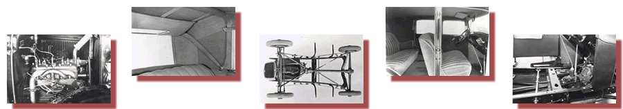 Model A Engine, Upholstery Top, Model A Chassis, Model A Upholstery Installation, Model A Transmission