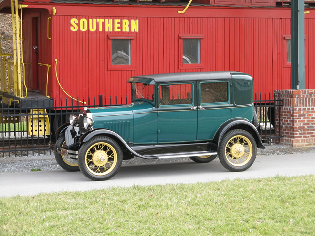 To date this car has earned its Antique Automobile Club of America 'Senior' award, and received it's MARC of Excellence from the Model A Restorers Club.