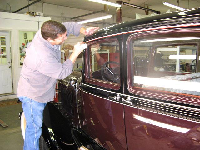 What Is A Sedan >> 1931 Model A Ford Slant Windshield Sedan by B. Terry Model ...